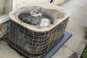 Old outdoor AC unit